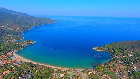 Spiaggia di Procchio Isola d'Elba