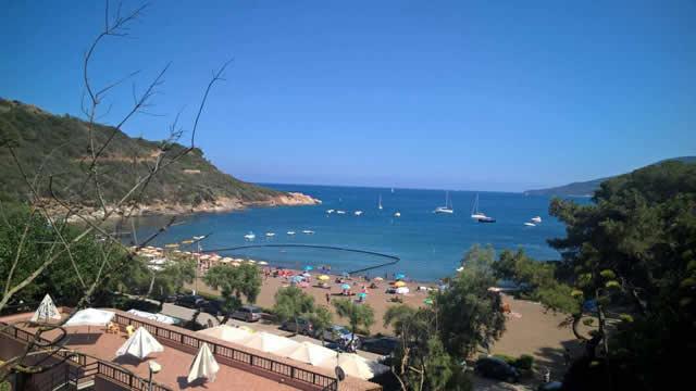 Spiaggia Barbarossa Isola d'Elba
