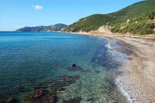 Spiaggia di Topinetti - Isola d'Elba