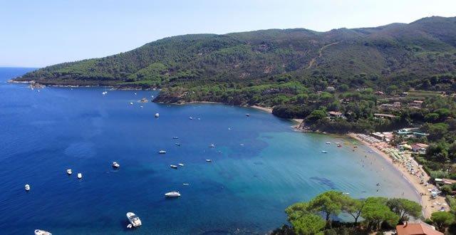 Spiaggia di Ferrato Isola d'Elba